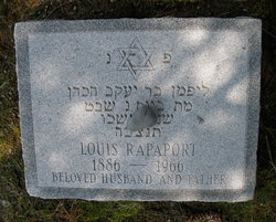 Louis Rapaport (1886 - 1966) - Find A Grave Memorial