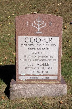 Lee Adele Ritz Cooper (1928-1988) Find A Grave Memorial