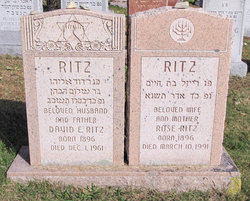 Rose Klein Ritz (1896 - 1991) - Find A Grave Memorial