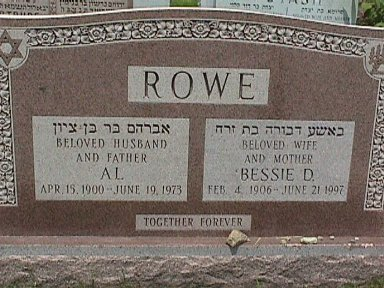Bessie Gordon Rowe (1906 - 1997) Find A Grave Memorial