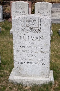Anna Rutman (1908 - 1993) - Find A Grave Memorial