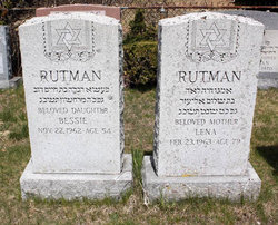 Bessie Rutman ( - 1962) - Find A Grave Memorial
