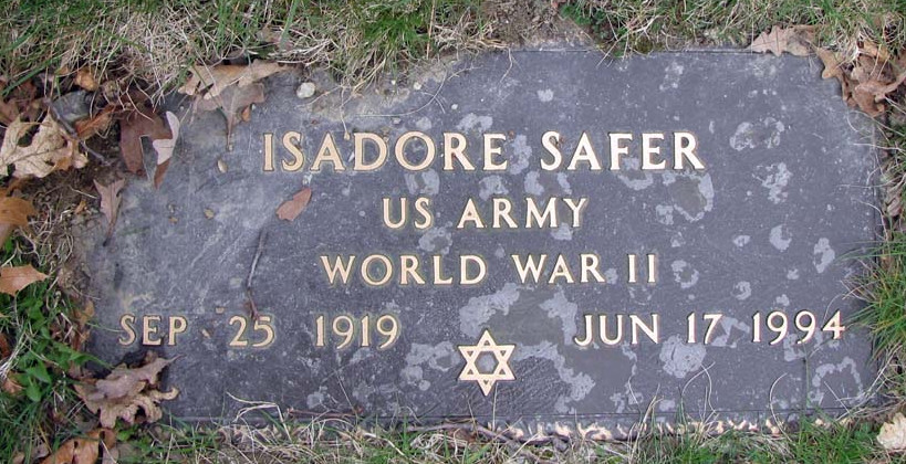 Isadore 'Izzy' Safer (1919 - 1994) Find A Grave Memorial