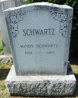 Mindy Solod Schwartz (1903 - 1985) - Find A Grave Memorial