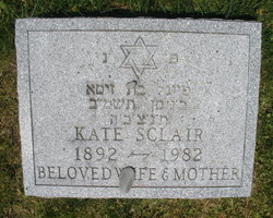 Kate Sclair (1892 - 1982) Find A Grave Memorial