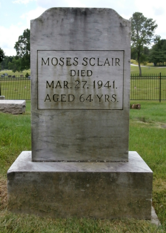 Moses Sclair (1877 - 1941) Find A Grave Memorial