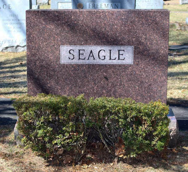 Family Marker of Seagle Family