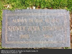 Sidney Zisia Shatsky (1885 - 1962) Find A Grave Memorial