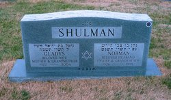 Norman Shulman (1926 - 1998) - Find A Grave Memorial