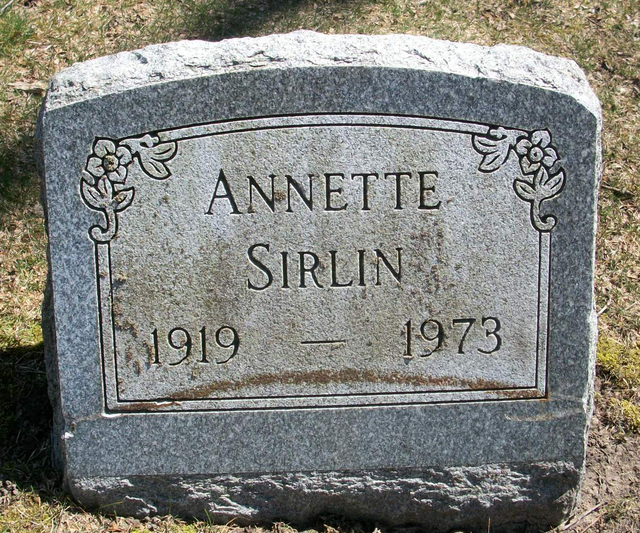 Annette Faingold Sirlin (1919 - 1973) Find A Grave Memorial