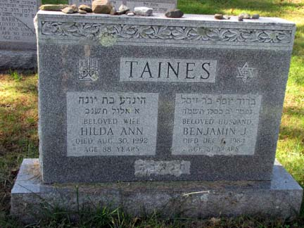 Hilda Ann Lubowitz Taines (1904 - 1992) Find A Grave Memorial
