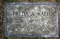 Freda A. Rosenfield Wald (1897 - 1995) Find A Grave Memorial