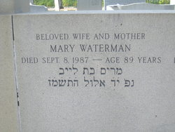 Mary 'Nana Mary' Jolles Waterman (1898 - 1988) Find A Grave Memorial