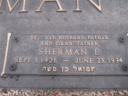 Sherman E. Waterman (1921 - 1994) Find A Grave Memorial