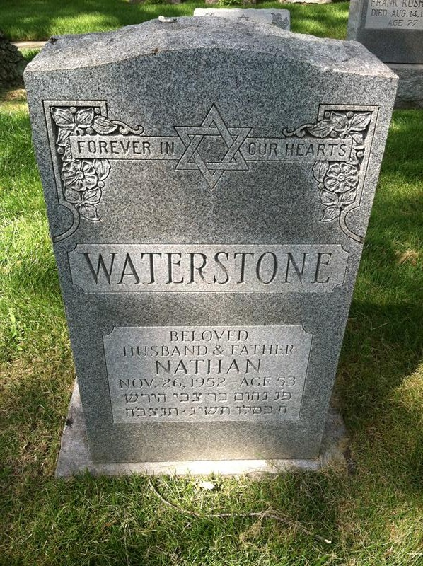 Nathan Waterstone ( - 1952) Find A Grave Memorial