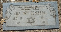 Ida Abelsky Wittenberg (1913 - 2001) - Find A Grave Memorial