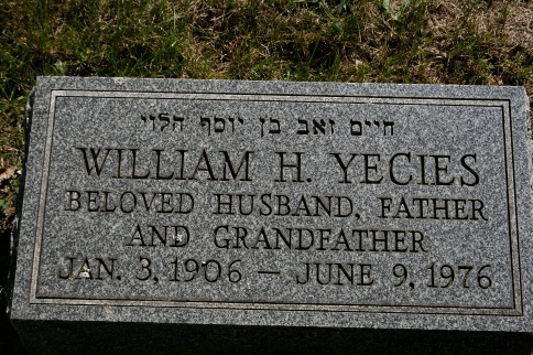 William H Yecies (1906 - 1976) Find A Grave Memorial