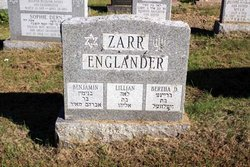 Lillian Englander Zarr (1909 - 1998) Find A Grave Memorial