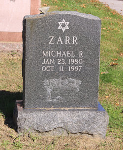 Michael Robert Zarr (1980 - 1997) Find A Grave Memorial