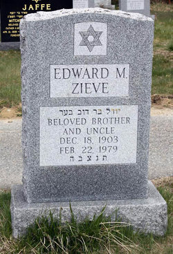 Edward M. Zieve (1903 - 1979) - Find A Grave Memorial