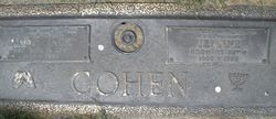 Jacob Cohen (1903 - 1995) Find A Grave Memorial