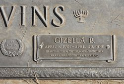 Gizella B. Nevins (1907 - 1986) Find A Grave Memorial